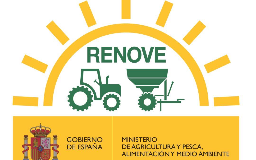 CASI UN MILLAR DE AGRICULTORES Y GANADEROS ESPAÑOLES SE BENEFICIARÁN DEL PLAN RENOVE 2020