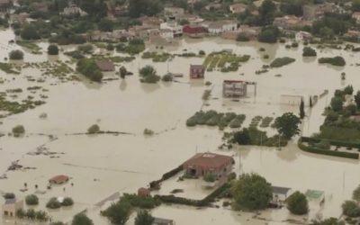 LA GOTA FRÍA PROVOCA UNA CATÁSTROFE AGRÍCOLA CON 300.000 HECTÁREAS AFECTADAS